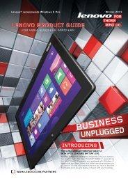 BUSINESS - Lenovo Partner Network