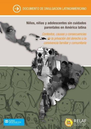 Niños, niñas y adolescentes sin cuidados parentales en - Aldeas ...