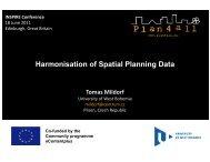 Harmonisation of Spatial Planning Data - inspire