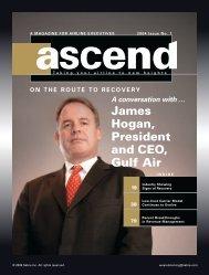 Geoff Dixon, CEO, Qantas Airways James Hogan, President and ...