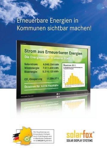 Städte und Gemeinden - Solarfox
