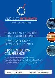 ROME, SATURDAY NOVEMBER 12, 2011 FIRST ... - Senaf
