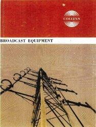 1964 Collins Broadcast Equipment Catalog - SMC Electronics