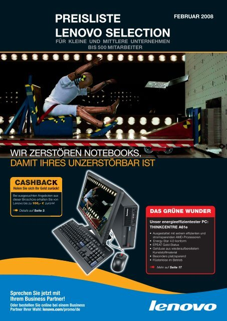 Preisliste Lenovo Selection - trojok.de