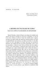A história de Polícrates de Samos. Mais um - Universidade de ...
