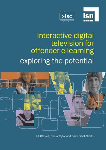 Interactive digital television for offender e-learning exploring the ...