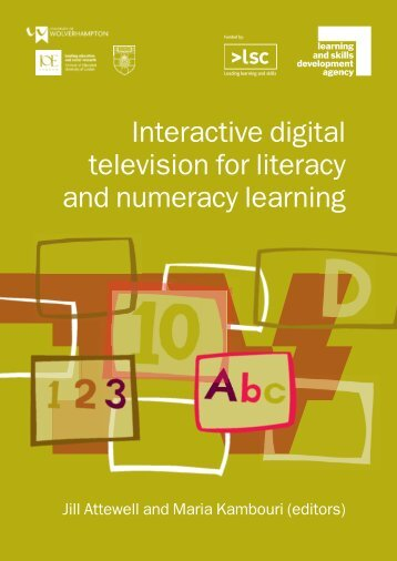 Interactive digital television for literacy and numeracy learning