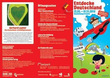 Entdecke Deutschland - Maximilianpark