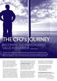 THE CFO'S JOURNEY - IBM