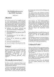 Der Studierendenausweis der DHBW Karlsruhe