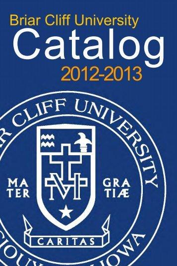 Academic Catalog - Briar Cliff University
