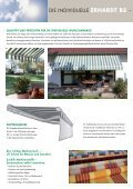 download pdf broschüre erhardt bs-d - Erhardt Markisen - Page 2