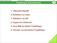 Entgiftung & Entschlackung - Dreluso Pharmazeutika GmbH