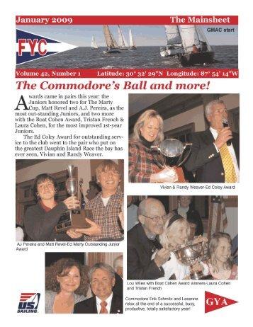 January 2009 The Mainsheet - Fairhope Yacht Club