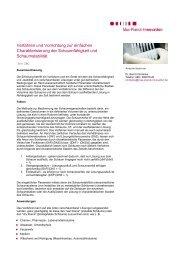 Verfahren und Vorrichtung zur einfachen Charakterisierung der ...