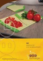 GH gastronomie und handelssortiment - Gastrozone