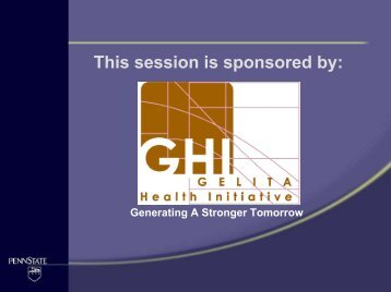 download (pdf, 2 mb) - GELITA Health Initiative