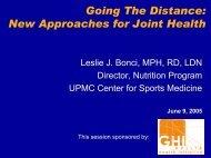 Joints - GELITA Health Initiative