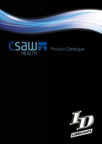 Product Catalogue - CSAW Health