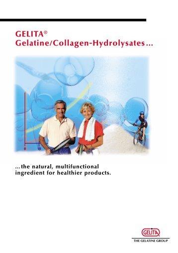 GELITA® Gelatine/Collagen-Hydrolysates...
