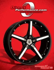 CLOSEOUT Truck/SUV Wheels - Direct Performance
