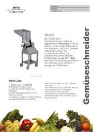 Gemüseschneider - Kronen