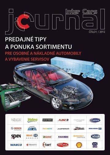 predajné tipy - 01/2012.pdf - Inter Cars