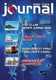IC Journal 1-2/2011 - Inter Cars