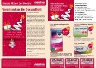 der aktuelle Flyer zum Download - Klee-Apotheke