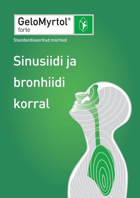 Bei Bronchitis und Sinusi