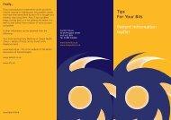 Tips for Your Bits Leaflet