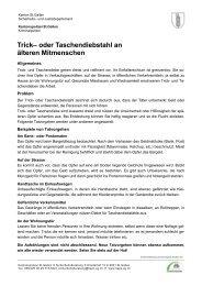 Trickdiebstahl an älteren Menschen (304 kb, PDF) - Kantonspolizei ...