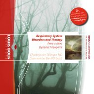Respiratory System Disorders and Therapy From a New - Louis Bolk ...