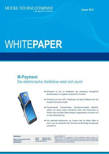 M-Payment: DIe elektronische Geldbörse setzt sich durch