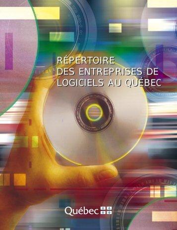 Répertoire des entreprises de logiciels au Québec - Ministère du ...