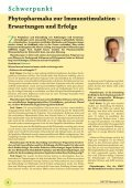 20 Jahre Ö GPh yt - bei PHYTO Therapie - phytotherapie.co.at - Page 6