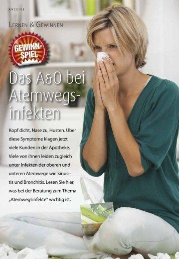 Das A&O bei Atemwegs- infekten - PTAheute