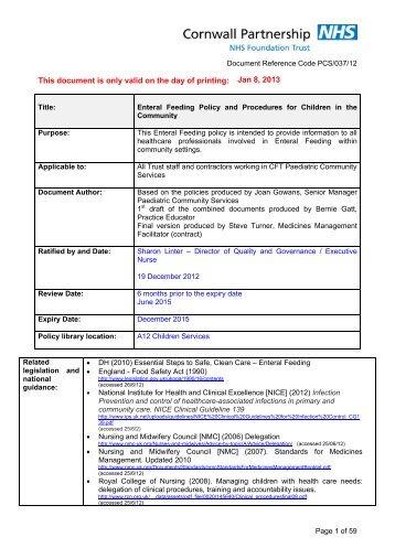 Manuale di amministrazione dei farmaci tramite enteral feeding tubes-4885
