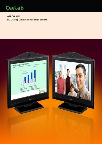 ARROW 1000 HD Desktop Visual Communication ... - MaxxVision