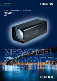 Fujinon Megapixel Zoom lenses - MaxxVision