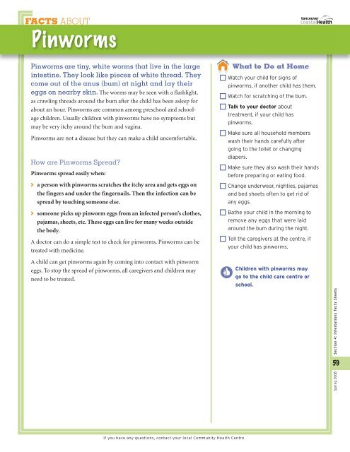 FACTS ABOUT Head Lice Hea