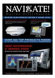 NEW RAYMARINE C SERIES WIDE - the new Navigate Trade website