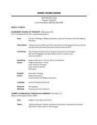 Full Curriculum Vitae (PDF) - Azusa Pacific University