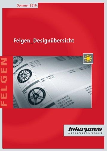 Felgen_Designübersicht Sommer 2010 - Felgenshop-Online.de
