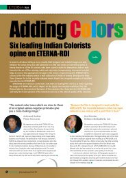 Six leading Indian Colorists opine on ETERNA-RDI - Fujifilm