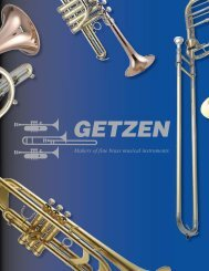 Getzen Catalog - Home