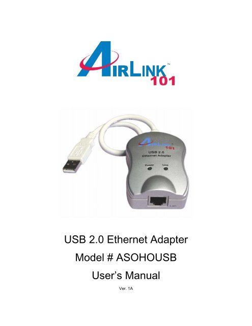 AIRLINK ASOHOUSB TELECHARGER PILOTE