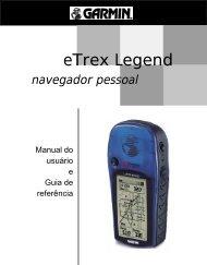 Manual em portugues do GPS Garmin etrex Legend - Etronics