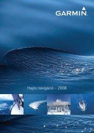 Hajós navigáció – 2008 - Garmin