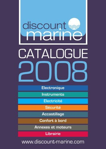 Catalogue - Electronique (5 Mo) - Discount Marine